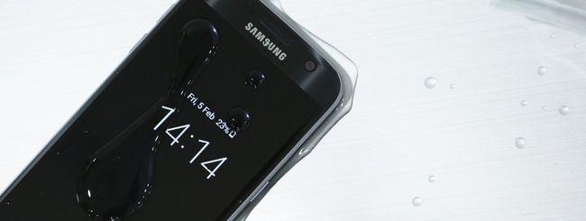 Samsung Galaxy S7 funziona anche sott'acqua
