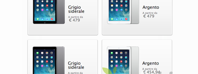Apple introduce gli Sconti Educational anche su iPad Air e iPad mini
