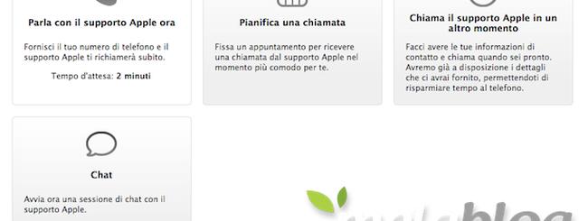 Apple Care, aggiornato il supporto con la chat 24/7