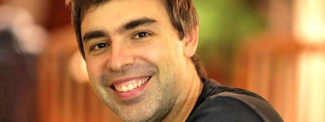 Larry Page parla di Google, Android e molto altro