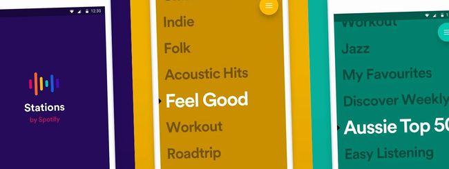 Spotify un po' come Pandora con l'app Stations