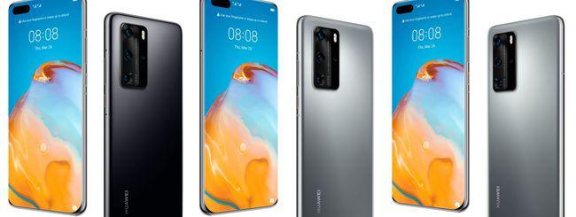 Huawei P40 e P40 Pro, specifiche e immagini