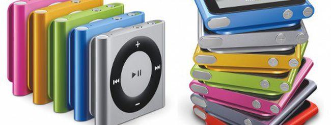 Nuovi iPod con iPhone 5 la prossima settimana