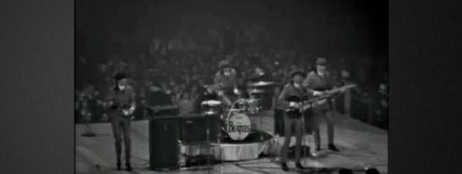 The Beatles su iTunes: gratis lo streaming del primo concerto americano