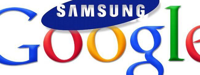 Samsung e Google, accordo sui brevetti