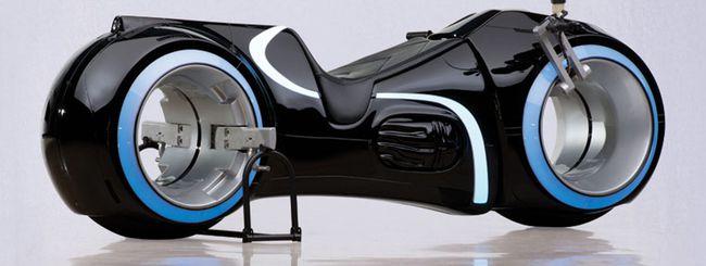 La moto di Tron esiste e sarà messa in vendita