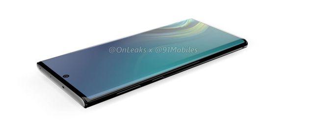 Samsung Galaxy Note 10 senza slot microSD?