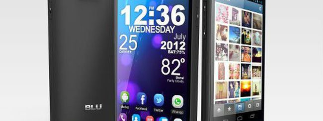 BLU Vivo 4.3, nuovo smartphone Android dual SIM