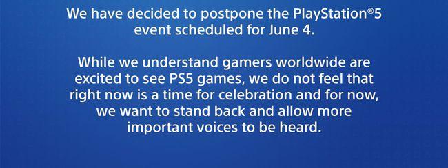 Morte Floyd: Sony rinvia evento PS5 del 4 giugno