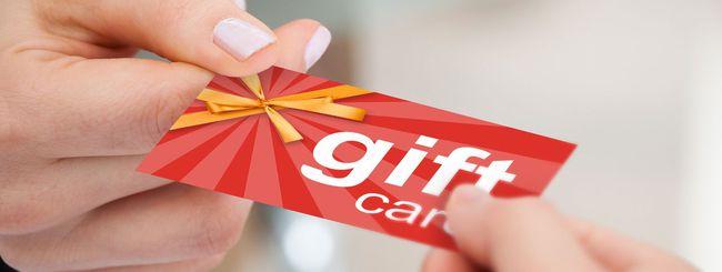Natale 2018, attenzione alle gift card