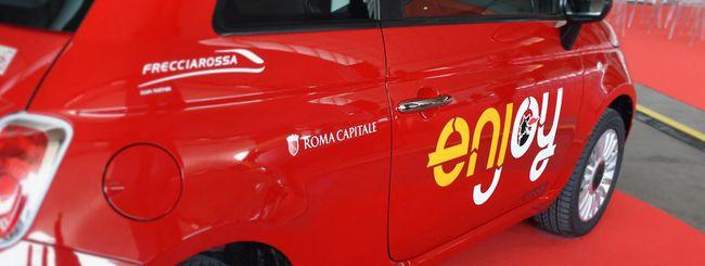 Enjoy a Roma, il car sharing è Capitale