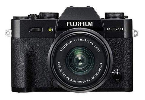Fujifilm X-T20 Fotocamera Digitale 24MP con Obiettivo XC15-45mm