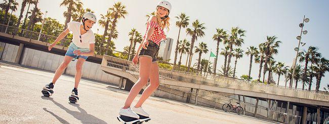 Arrivano gli e-Skates Segway Drift W1