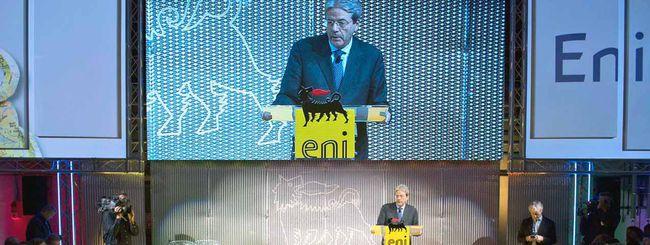 Gentiloni parla in casa ENI: democrazia del gas