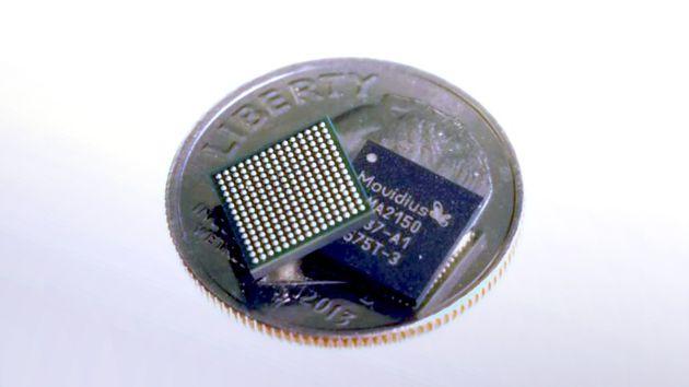 La VPU Movidius Myriad 2 presente nella fotocamera Google Clips.