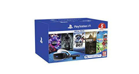 PS VR Mega Pack V2 (PS VR headset + PS Camera + 5 Giochi)