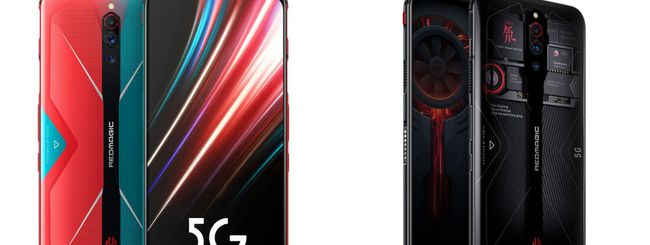 Nubia Red Magic 5G, schermo AMOLED a 144 Hz