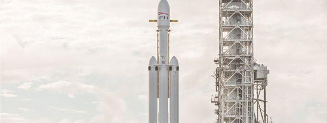SpaceX, il Falcon Heavy è quasi pronto al lancio