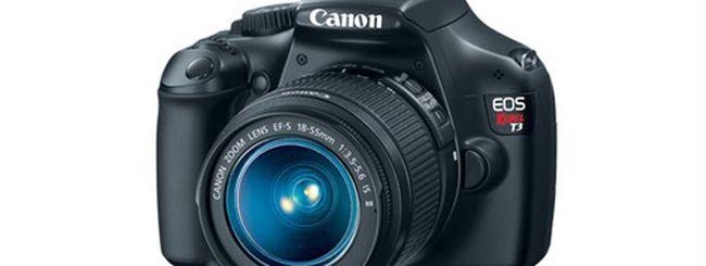 Canon EOS 1100D, reflex compatta e colorata: i dettagli