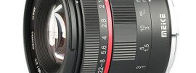Un nuovo ed economico 50mm f/1.7 da Meike per Canon RF e Nikon Z