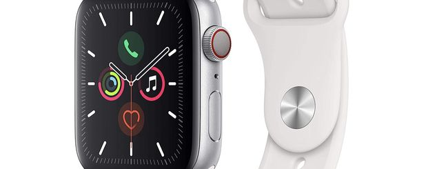 Apple Watch Series 5 in offerta su Amazon con 100 euro di sconto