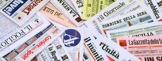 Quotidiani cartacei in crisi, le news sono sul Web