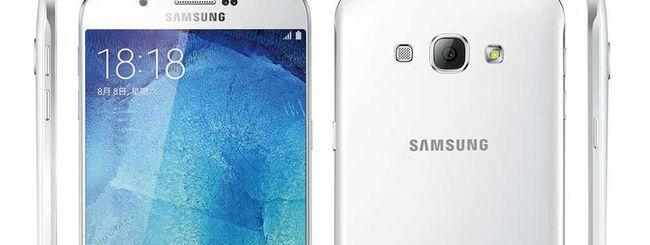Samsung Galaxy A8, prezzo e data di lancio