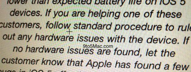 iOS 5.0.1 in fase di test anche tra gli utenti