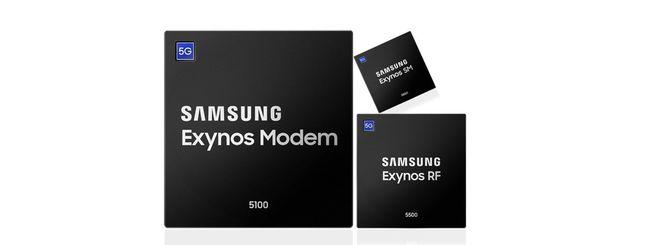 Samsung avvia la produzione di massa del modem 5G