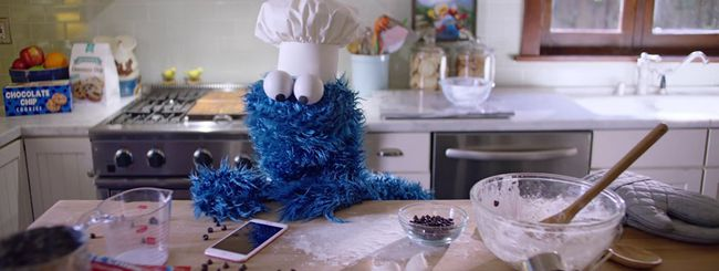 iPhone 6S, Siri assolda il Cookie Monster