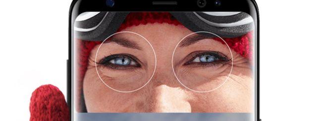 Galaxy S10, Samsung elimina lo scanner dell'iride?
