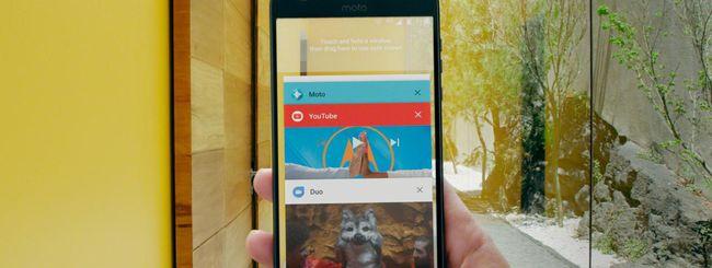 Android 8.0 Oreo per 12 smartphone Motorola