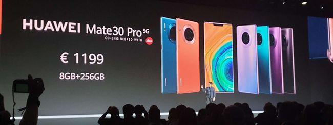 Huawei, consegne smartphone in caduta libera
