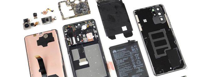 Huawei P30 Pro, iFixit svela i segreti nascosti