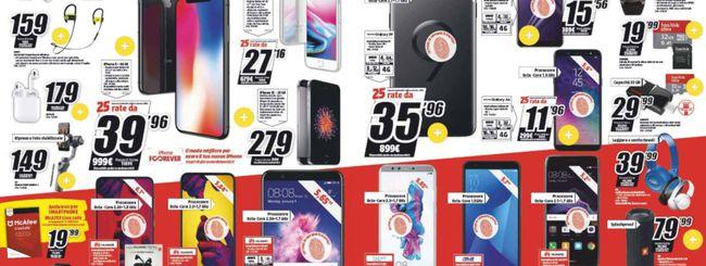 Volantino MediaWorld, Huawei P20 Lite a 299 euro
