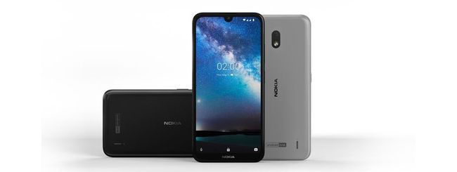 Nokia 2.2, schermo con notch e Android One