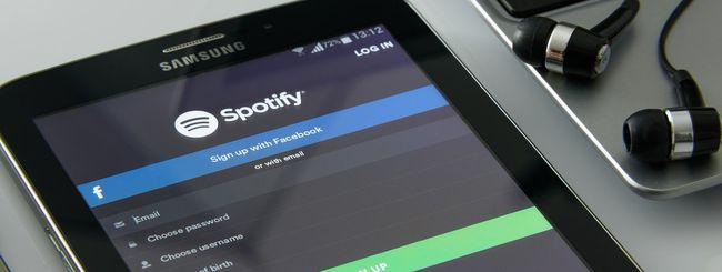 Spotify rimuove il limite dei 10mila brani