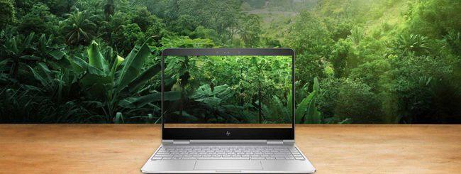 HP aggiorna i notebook Envy 13 e Spectre x360
