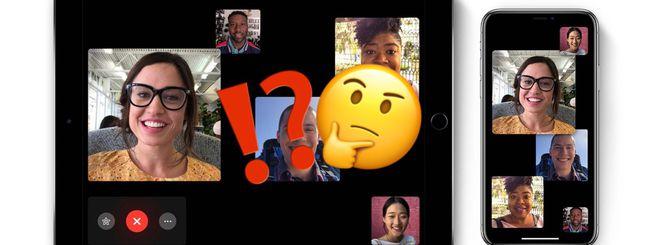 iOS 12.1.4: come effettuare Chiamate FaceTime di Gruppo