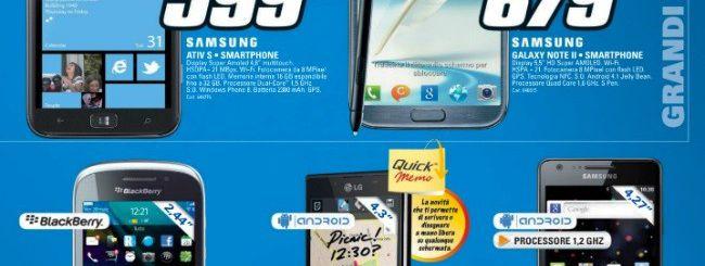 Saturn: Samsung ATIV S a 599 euro