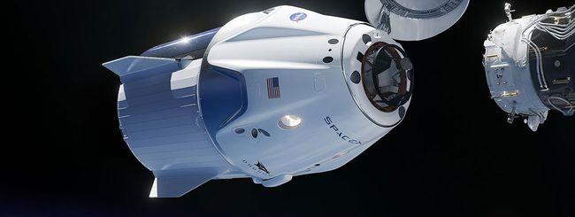 SpaceX, Crew Dragon: volo con equipaggio nel 2020