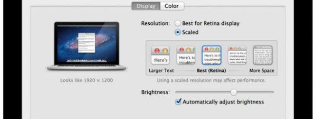 Le prime recensioni sul display Retina dei MacBook Pro
