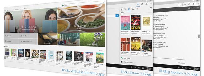 Windows 10 build 15014, arrivano gli ebook