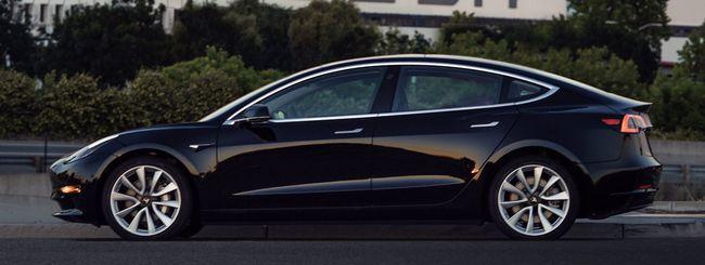 Tesla, ecco la prima Model 3