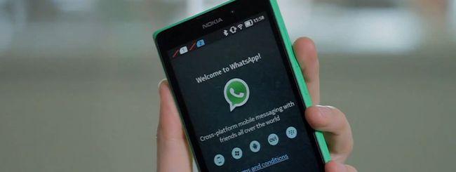WhatsApp disponibile anche sul Nokia X