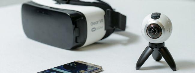 Samsung realizzerà un visore VR senza smartphone