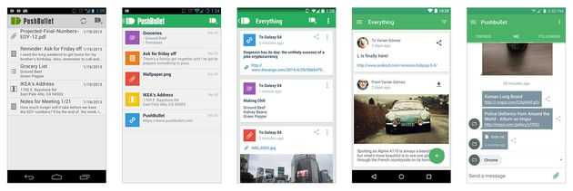 Pushbullet per Android
