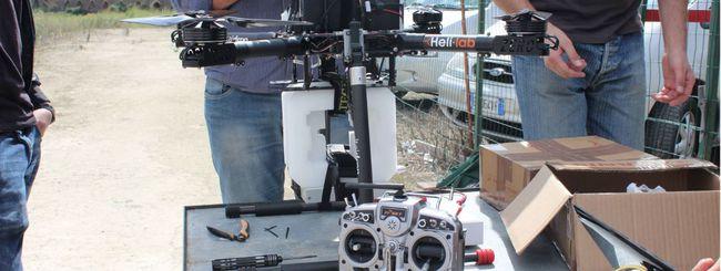 Il drone come hot spot è un progetto italiano