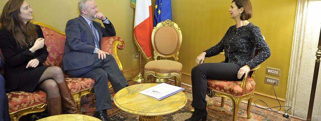 Laura Boldrini, Facebook e l'hate speech