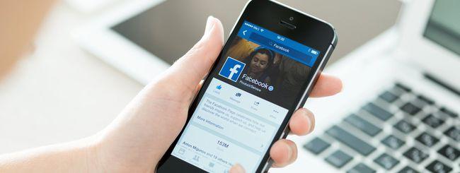 Facebook uccide la batteria dello smartphone
